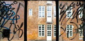 Graffiti removal window films.