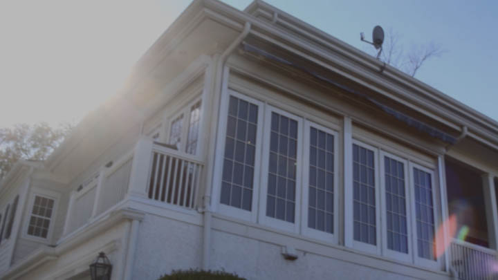 video thumbnail of customer home with window film.