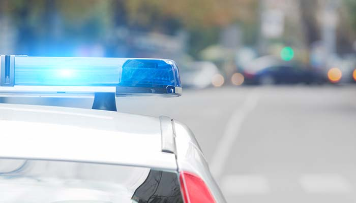 Police siren from a local break-in.